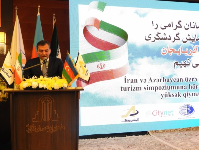 Tehranda İran-Azərbaycan turizm simpoziumu keçirilib