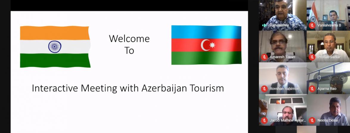 """Florian Zenqstşmid: """"Hindistan Azərbaycan turizmi üçün vacib bazardır"""""""