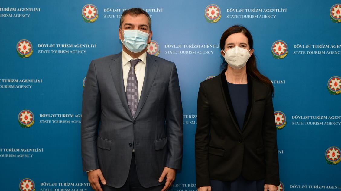 İspaniya-Azərbaycan turizm əlaqələrinin inkişaf perspektivləri müzakirə olunub