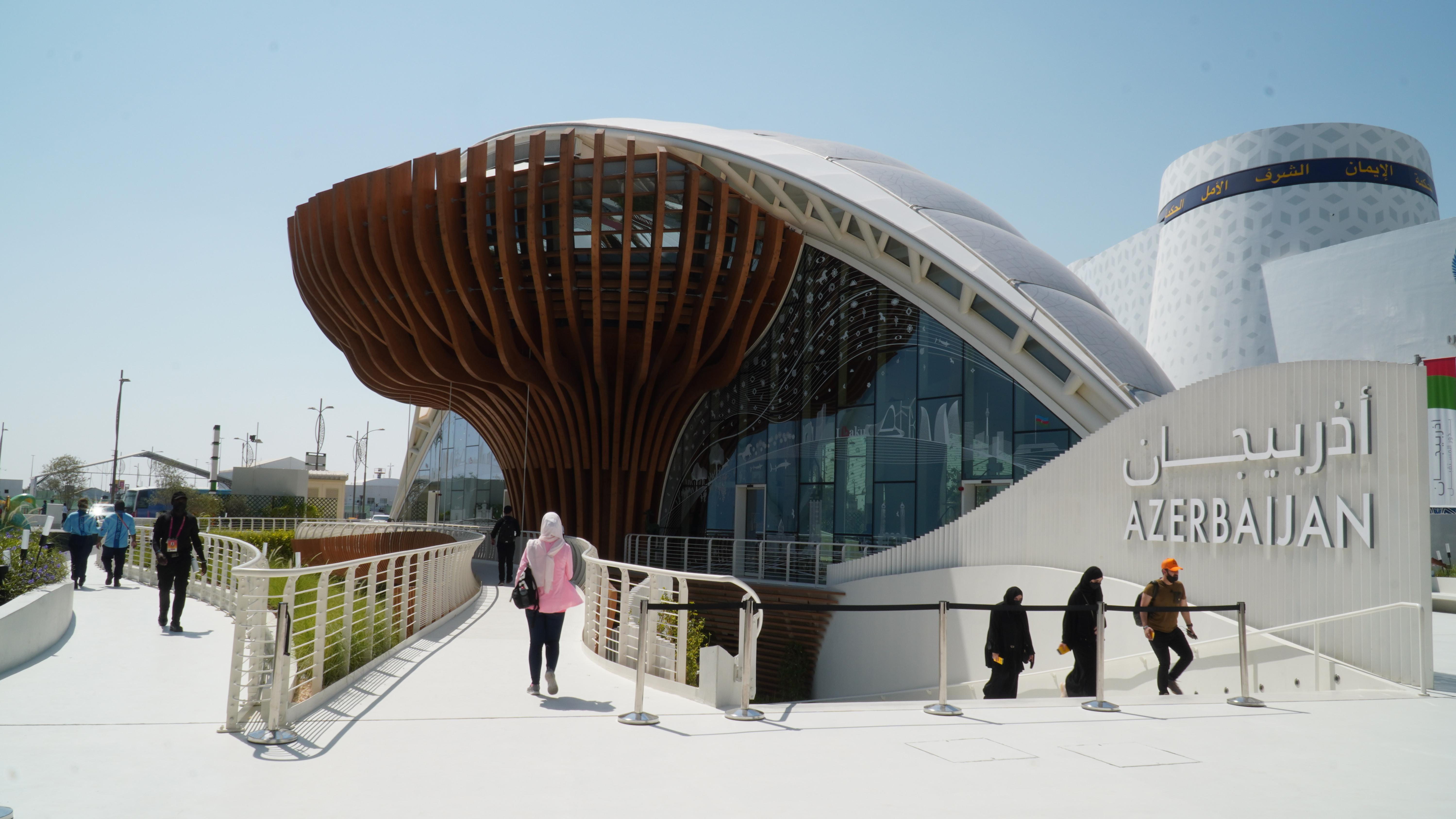 """>""""Expo 2020 Dubai"""" beynəlxalq sərgisində Azərbaycan turizm həftəsi start götürüb"""